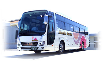 みなと観光バスの貸切バス